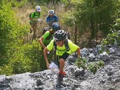 trail jeune raid des dentelles vaucluse gorges de la nesque